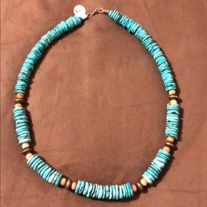 Turquoise necklace NWT.